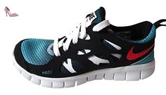 Nike Free Run 2 (gs) en cours Formateurs 443742 Sneakers Chaussures (uk 5 nous 5.5y Eu 38, Turquoise - Chaussures nike (*Partner-Link)