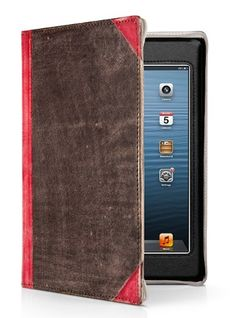 Amazon.com: Twelve South BookBook for iPad mini - Vintage leather case for iPad mini (vibrant red): Computers & Accessories