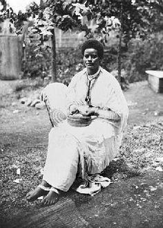 Nativa de Etiopía 1900.