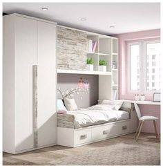 Interior Painting Schemes Design Seeds interior painting tips ceilings. Dream Rooms, Dream Bedroom, Girls Bedroom, Bedroom Decor, Bedrooms, Small Bedroom Ideas For Girls, Small Teen Room, Woman Bedroom, Bedroom Small