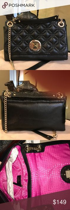 NWT Kate Spade Crossbody Gorgeous New Leather Kate Spade Cynthia Astor Court in black. kate spade Bags Crossbody Bags