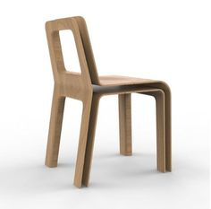 SKIN chair - designed by julien Vidame #chair #chaise #wood #bois #oak #chene #doubleskin #doublepeau #ouvert #open #aerien #aerial #julienvidame #vidamestudio #newproject #nouveauprojet #rennes #bretagne #designer #productdesign
