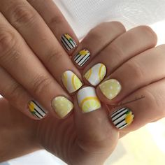 Lemonade by Bellissimanails on Nail Art Gallery