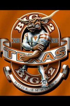 Big 12 Texas Longhorns
