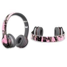 Protective Vinyl Skin Decal Cover for Dr. Dre Beats Solo HD Headphones Sticker Skins Pink Tree Camo MightySkins http://www.amazon.com/dp/B00DVPVRM6/ref=cm_sw_r_pi_dp_J5LMtb1ZHRGD72T4