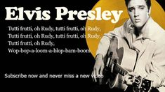 Elvis Presley -- Tutti Frutti -- Lyrics (Official)