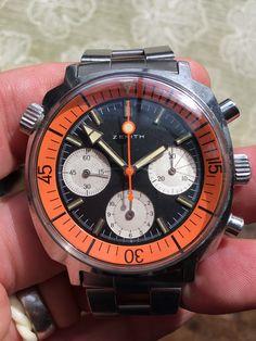 FS: Zenith a3736 Sub Sea Orange