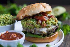 Southwest Pepper Jack Burgers @garnishandglaze @sargentocheese #realcheesepeople