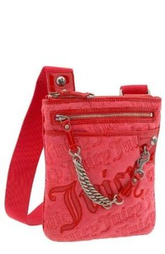 Juicy Couture 'Charming Chain Swag' Crossbody Bag - Red ...