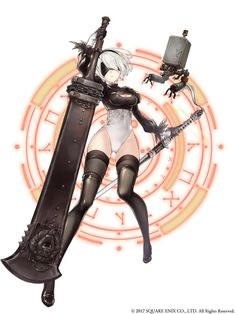 Browse more than 135 nier automata pictures which was collected by SENOU , and make your own Anime album. Nier Characters, Fantasy Characters, Female Characters, Female Character Design, Game Character, Drakengard Nier, Akali League Of Legends, Comic Games, Video Game Art