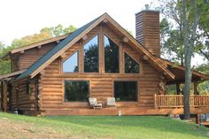 Montana Log Homes - Tennessee Home - Montana Log Homes