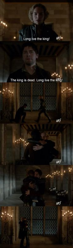 Bash and Francis • Brothers❤️❤️ • Toby Regbo , Torrance Coombs • Reign • 1x22 - Season Finale