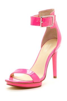 Calvin Klein Vivian Fluorescent Patent High Heel