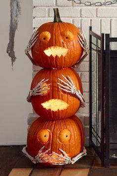 Ceramic Pumpkin Hanging Tea Light Holders Halloween Party Décoration S//M//L