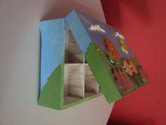 Caixa Crianças - Relevo em madeira. (MDF)