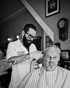 Schorem, Old school barbershop in Rotterdam