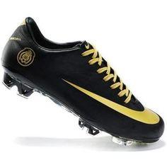 Mens Nike Mercurial Vapor SuperFly III Elite FG Safari Mexico National Soccer Team Cleats In Black Gold