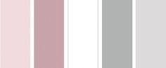 slaapkamers met wit, roze en grijs - kleurenschema Voor meer inspiratie, interieurstyling, verkoopstyling en woningfotografie. www.stylingentrends.nl of www.facebook.com/stylingentrends