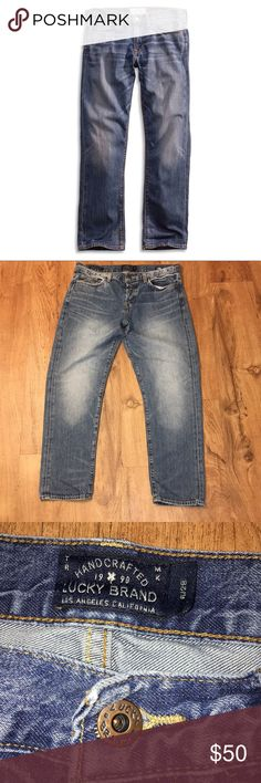 Lucky Brand washed up boyfriend jeans size 6 Lucky Brand washed up look Dylan boyfriend jeans size 6 x 28. Beautiful comfortable style. Great condition.   Measurements provided as a courtesy~not a guarantee fit. Shown in picture above taken with the Tape Measure app. Lucky Brand Jeans Boyfriend