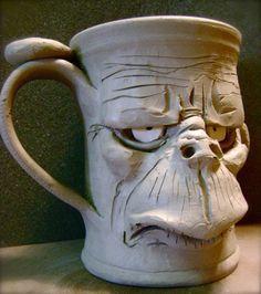 Face mug, Mugs and Ceramics on Pinterest