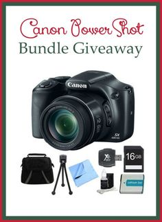 Enter for a chance to win a Canon PowerShot Camera Bundle! Open to US, ends 11/30/15. #Sponsored by BuyDig #DigMyOrder