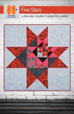 (7) Name: 'Quilting : Five Stars