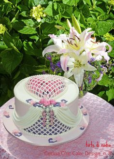 romantic heart - by tortedinadia @ CakesDecor.com - cake decorating website