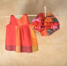 SET per neonata-cotonecoloratissimo-waldorf di PABUITA su Etsy