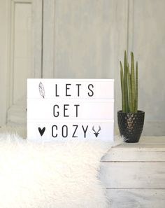 A Little Lovely Company Lightbox A4 Letters