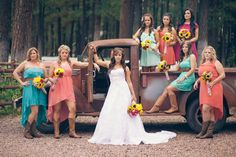 Simple country style wedding dresses with boots trends (41)