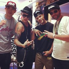 Typical day at the office @mrchrisrene @princelefty @deadwrng #shalomlife #2012 #music #art #culture - @shalomcpp- #webstagram
