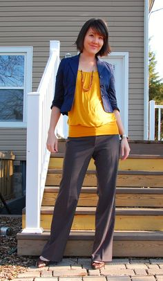 Fall Maternity Style @ http://MotherhoodCloset.com - Your hub to maternity consignment.