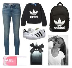 """"" by vannabellazzi on Polyvore featuring moda, Frame Denim, adidas, adidas Originals, Torrid, women's clothing, women's fashion, women, female e woman"