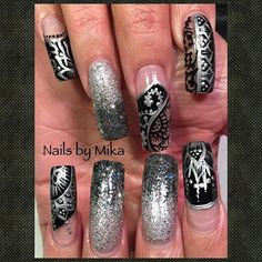 Yamilka Mika Sanchez (@mika_83) by ThemNails from Nail Art Gallery