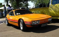 A rare and beautiful looking Volkswagen SP2 sports car - not many left on the road!