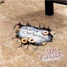 3D Wandtattoo Weihnachten Merry Christmas Weihnachtsdeko