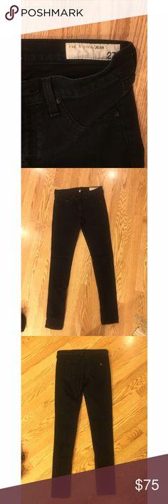 Rag & Bone dark skinny jeans - perfect cond - 27 Rag & Bone dark skinny jeans - size 27 - perfect condition rag & bone Jeans Skinny