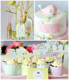 Ideias para Festa dos Passarinhos - http://www.boloaniversario.com/ideias-festa-dos-passarinhos/