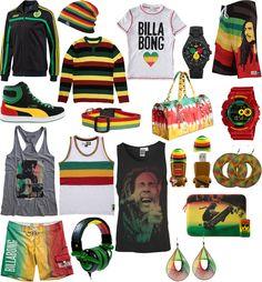 Inspirações Rastafári - www.usefashion.com