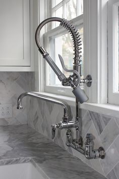 this bathroom faucet looks like an old industrial pipe | pipe