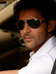 Hrithik Roshan made his debut as a playback singer in Kites Bollywood Stars, Bollywood Celebrities, Bollywood Actress, Ray Ban Sunglasses Sale, Indian Star, Indian Movies, Hrithik Roshan, Men's Grooming, Star Wars