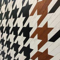 #parquet #houndstooth #cersaie2016 #wood #pattern