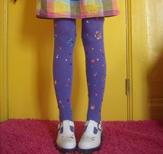 DIY: Bejewel Your Tights Like a Rookie / via: hello giggles