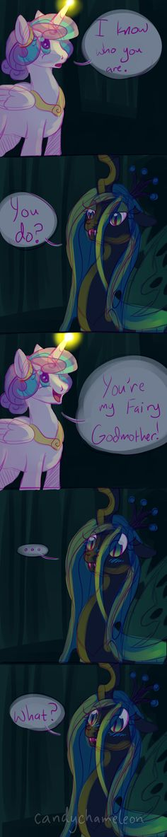 I know who you are by CandyChameleon on DeviantArt My Little Pony Characters, My Little Pony Comic, Mlp Characters, Anime Wolf Drawing, Mlp Memes, Celestia And Luna, My Little Pony Drawing, Mlp Fan Art, Mlp Comics