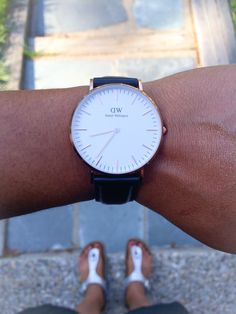 Was feeling classic today. #danielwellington - Use SSHACOCHIS for 15% off all products at www.danielwellington.com  until May 31, 2015!