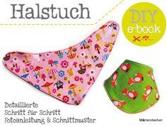 e-book++Ruck-Zuck+Halstuch+-+2+Größen+von+Märzenbecher+auf+DaWanda.com