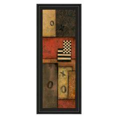 Classy Art Right Move I Framed Wall Art - 18W x 42H in. - 1102