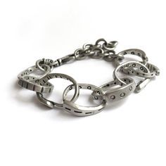 Sterling Silver Large Link Bracelet Heavy Chain Recycled by SToNZ