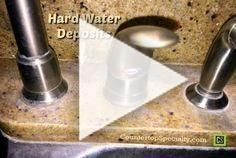 How To Remove Hard Water Stains Around Kitchen Faucet Granite