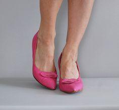 vintage 1950s Tickle Me Pink heels